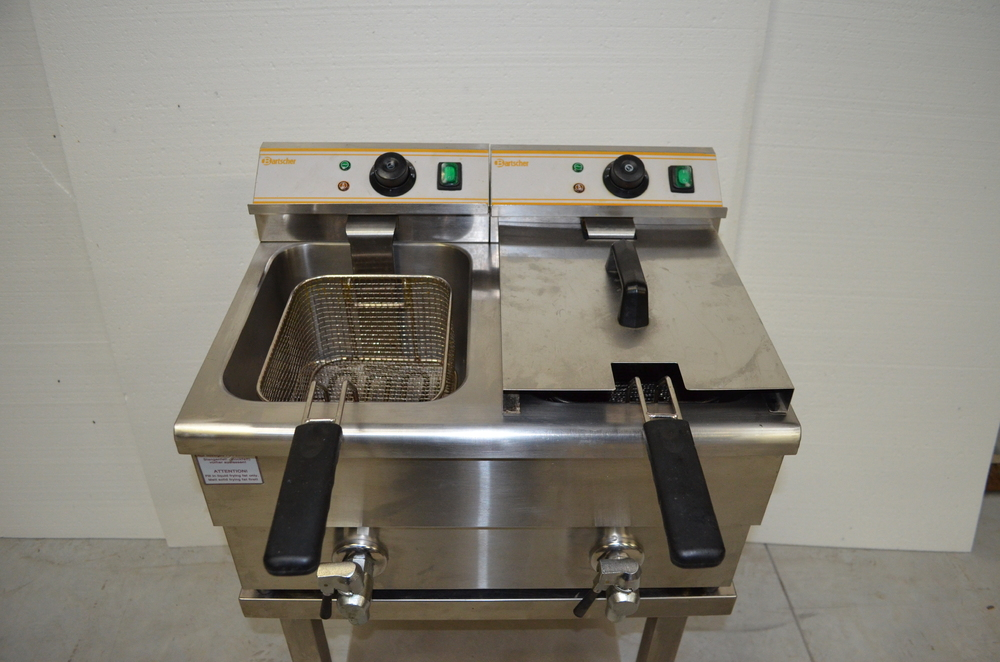 FRITEUSE 2 × 8 LITRES - BARTSCHER - OCCASION